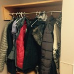 Place for coats